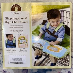 NWT Carter's Shopping Cart & Chair Cover Monkey